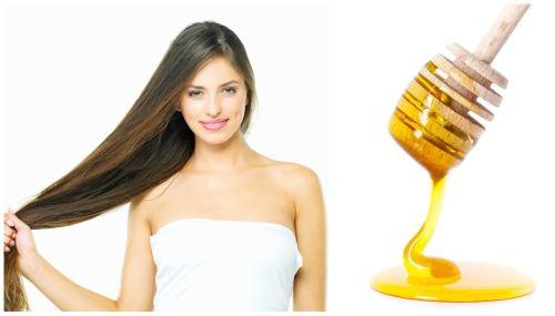 Маска для волос с медом для осветления