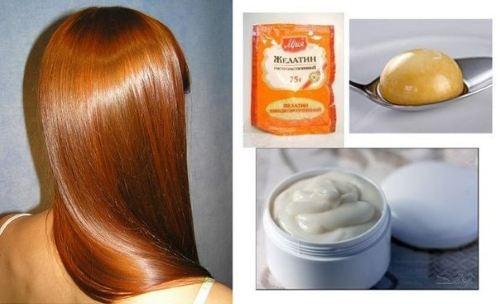 Маска для волос из желатина в домашних условиях с бальзамом