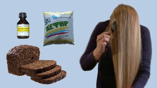 Польза ржаного хлеба для волос, рецепты масок для волос с хлебом, почему хлеб полезен для роста волос